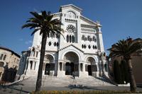 La cathédrale de Monaco