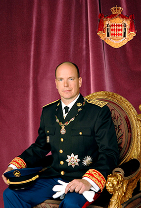 His Serene Highness Prince Albert