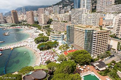 Real estate Monaco Monte Carlo : view Larvotto