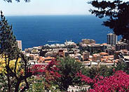 Around the Principality of Monaco, Monte-Carlo