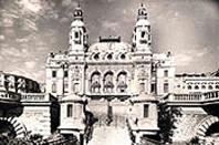 Monaco - Monte Carlo : le Casino au début du siècle