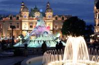 Monaco - Monte Carlo : le Casino (coté jardins)