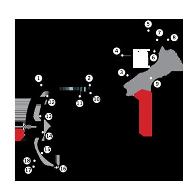 Le circuit de Monaco