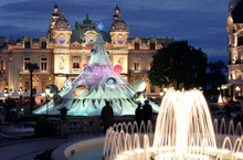 Illumination du Casino de Monte-Carlo