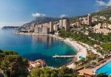 Le port de la principauté de Monaco
