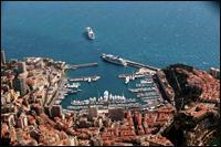The harbour of Monaco