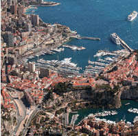 View of Monaco, Monte-Carlo