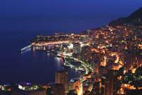 General view of Monaco, Monte-Carlo