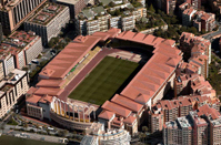 The Stade Louis II of monaco