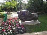 Chemin des sculptures