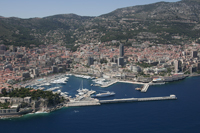 General view of Monaco - Monte Carlo
