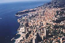 Monaco vu du Vista Palace