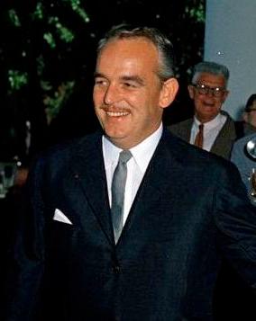 El Principe Rainier III de Mónaco