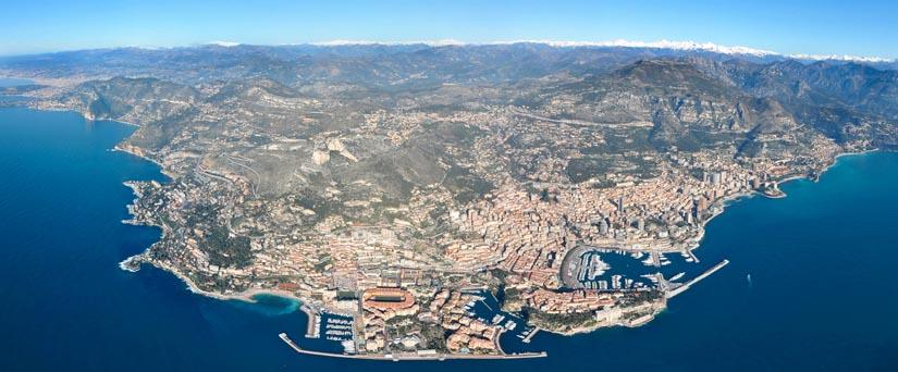 Autour de Monaco Monte Carlo
