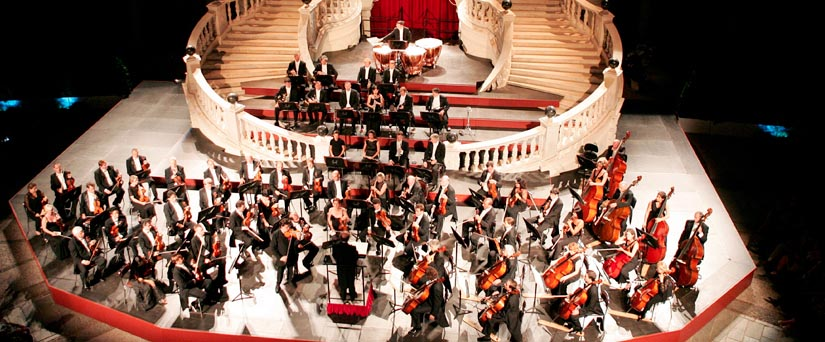 Concert au Palais de Monaco